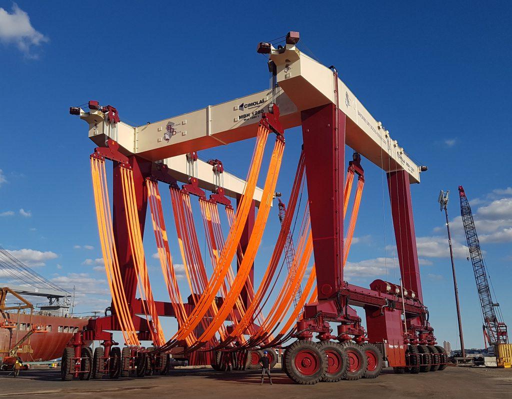 Cimolai Technology - MBH - Bayonne Dry Dock
