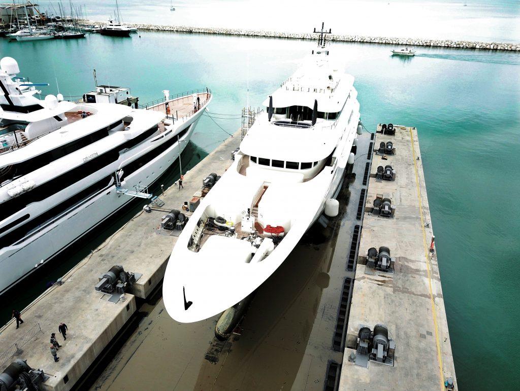 Cimolai Technology_SLP_Ship lifting plaftorm CIMOLIFT